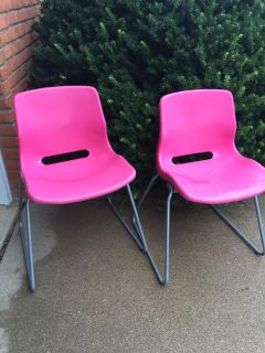 Pink IKEA Desk Chairs