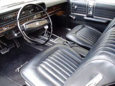 Sell 1968 Ford Galaxie XL Seat Cover Set, Black, Front Buckets and HT/Fastback Rear motorcycle in Munford, Alabama, United States, for US $499.95