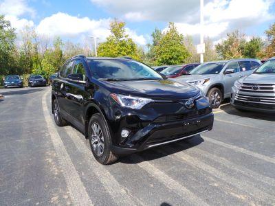 2018 Toyota RAV4 XLE (black)