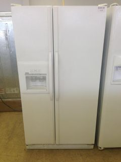 $399.99, White Kenmore Side by Side Refrigerator-i172