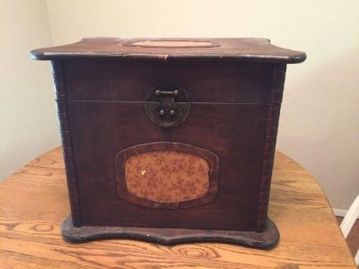 Anitique solid wooden box