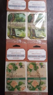 Set of 4 New Hanging Air Fresheners