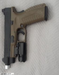 For Sale/Trade: XDm full size 9mm suppressor ready with suppressor sights