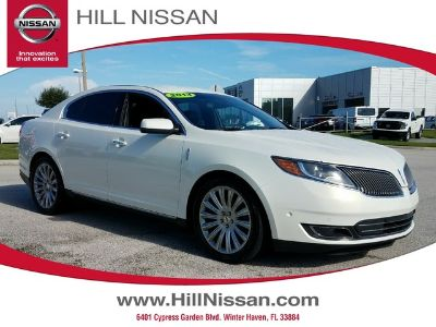 2013 Lincoln MKS Base (White Platinum Metallic Tri-Co)