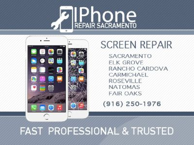 iPhone LCD Screen Display Repair Sacramento Natomas Elk Grove