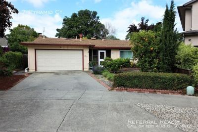 Updated Home in Great West San Jose Location!