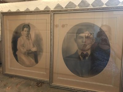Vintage Custom Re-Framed Photos from early 1900's POMS