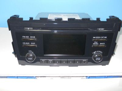 Find 2013 Nissan Altima uplevel cd satellite radio with aux input 28185 3TA0B motorcycle in Booneville, Mississippi, US, for US $225.00