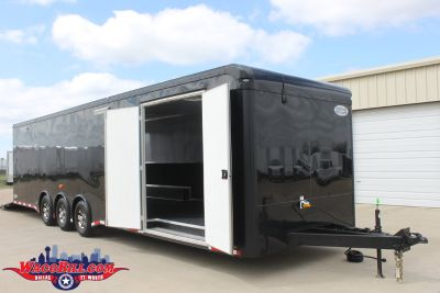 32' Race Trailer 2018 Clearance Sale! Wacobill.com