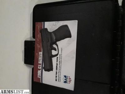 For Sale: FMK 9mm and rifle rest