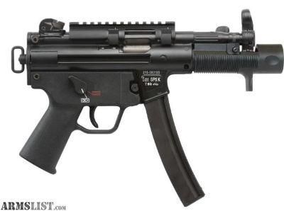 For Sale: HK SP5K 9mm Brand New in Box