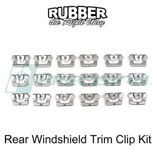Find 1968 - 1972 Pontiac Grand Prix Rear Windshield Trim Clip Kit- 18 pc. motorcycle in San Diego, California, United States, for US $8.50
