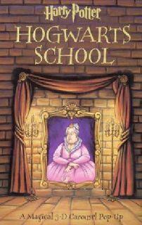 $150 Harry Potter Hogwarts School 3-D Carousel Pop-Up
