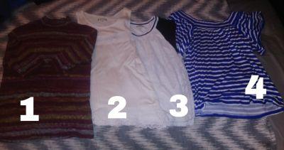 Summer dressy shirts 7 a piece