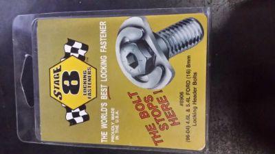 Purchase Stage 8 Locking Header Bolt Kit 8906 motorcycle in Phoenix, Arizona, United States, for US $65.82