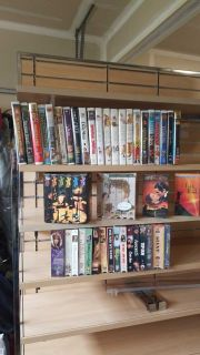 Have a lot of VHS tapes for sale about 50-80 vids or more