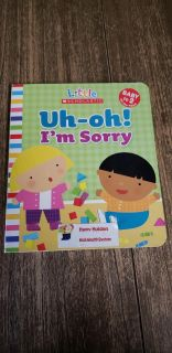Little Scholastic Uh-oh! I'm Sorry Board Book