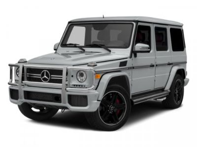 2014 Mercedes-Benz G-Class G63 AMG (Palladium Silver Metallic)