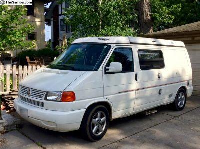 2000 VW Winnebago Camper Eurovan Everything works.