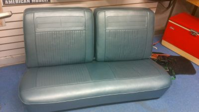 bench seat 1963 nova