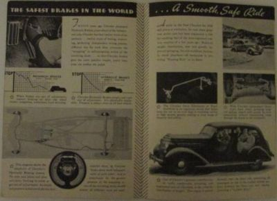 Sell 1936 Chrysler Six Eight Deluxe Eight Imperial Airflow Sales Brochure Original motorcycle in Holts Summit, Missouri, United States, for US $34.36