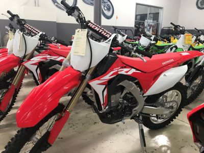 2018 Honda CRF450RX Motorcycle Off Road Corona, CA