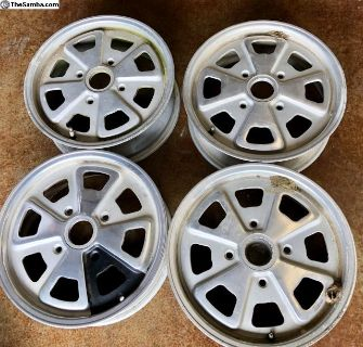 Porsche 914 OEM Original Set of Fuchs Wheels/Rims