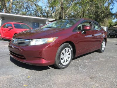 2012 Honda Civic LX (RED)