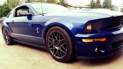 2007 Ford Mustang Shelby GT500 (Vista Blue Clearcoat)
