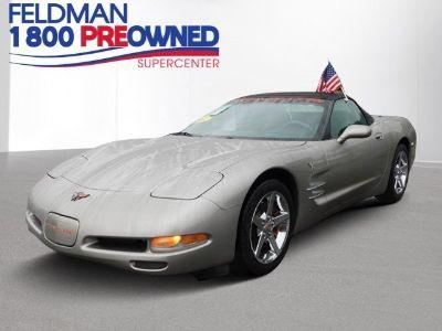 2001 Chevrolet Corvette Base (Light Pewter Metallic)