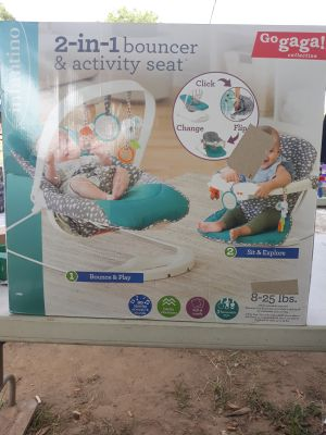 Infantino 2 in 1 bouncer and activity seat