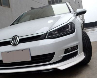 Find 2015 2016 VW GOLF - DEEP BUMPER SPOILER LOWER LIP - MK7 TSi TDi - PAINTED WHITE motorcycle in Watertown, Massachusetts, United States, for US $119.90