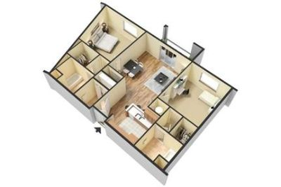 2 bedrooms - The Wakefield Apartments is just minutes from major highways, shopping.