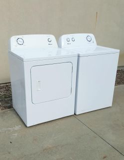 Like New Matching Amana 3.5 Cu Ft. Washer & 6.5 Cu. FT. Electric Dryer