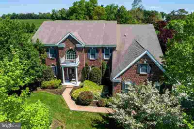 100 Marigold CT Chester Springs Four BR, Stunning brick front