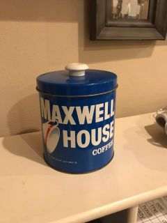 JL Clark vintage canister Maxwell House ppu only