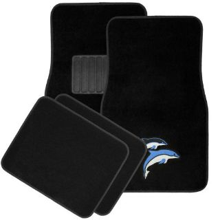 Sell Car Floor Mats for Auto 4pc Set Embroidered Dolphin w/Heel Pad Carpet Liner Fit motorcycle in Gardena, California, United States, for US $16.95