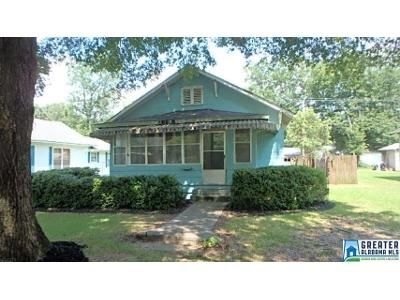 2 Bed 1 Bath Foreclosure Property in Sylacauga, AL 35150 - Pine St