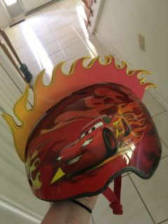 Bell Toddler Cars Helmet with Flames