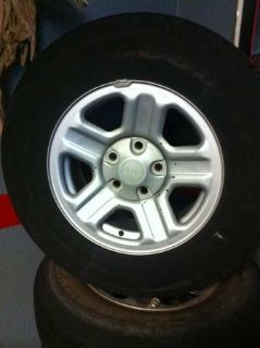 4 brand new 2257016 tires and rims