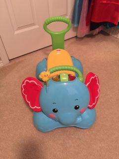 Fisher Price 3-in-1 Bounce-Stride-Ride Elephant