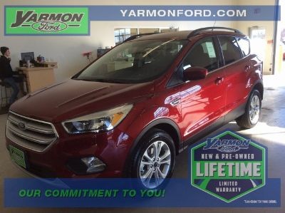 2018 Ford Escape SE (Ruby Red Metallic)
