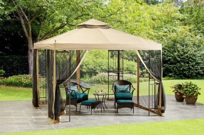 "Mainstays 10"" x 10"" Gazebo - NEW!"