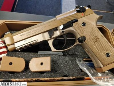 For Sale: BERETTA M9A3 9MM FDE ITALY BERETTA M9A3 MADE IN ITALY EXCLUSIVE TAN J92M9A3M