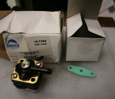 Purchase NEW SIERRA JOHNSON EVINRUDE SMALL FUEL PUMP 18-7350 397839 motorcycle in Scottsville, Kentucky, United States, for US $39.99