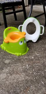 Toddler toilet seat and potty training seat