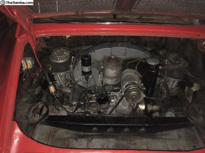 Complete running motor 912/616/356