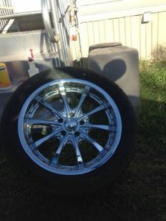 20 inch Rims with 4 tires