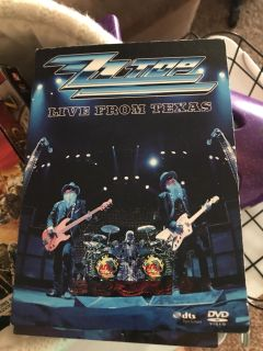 DVD concert ZZ Top ... moving sale