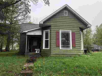 502 N Ashley Street BRAZIL, This Two BR, One BA home needs a